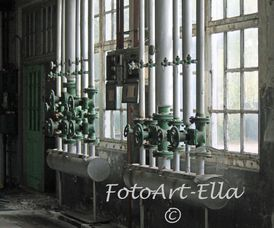 inside a old factory building